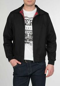 Merc London Harrington Black Cotton Jacket