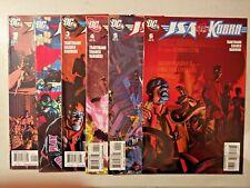 Jsa vs. Kobra Dc Comics Complete Series #1 2 3 4 5 6 2009 L1