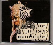 (A575) Men Woman & Children, Dance In My Blood - DJ CD