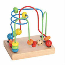 Castle Toy Wooden My First Bead Frame Original Wood Smartframe Baby Toy 569512