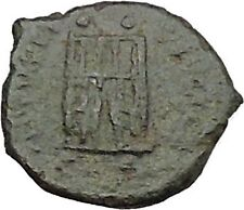 Valentinian II 388AD Authentic Ancient Roman Coin City gate  i39231