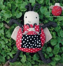 """New Craft Sewing Pattern by Melly & Me:  Lottie and Little Lady (12"""" & 3"""" Bugs)"""