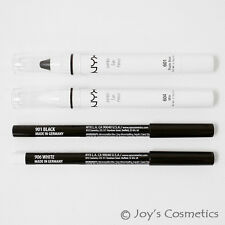 "NYX ""2 Jumbo & 2 Slim Pencil"" Combo set A : ""Black&Milk""  *Joy's cosmetics*"