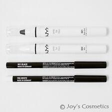 """NYX """" 2 Géant & 2 Slim Crayon """" Combo Ensemble A : """" Black&milk """" Joy's Produits"""