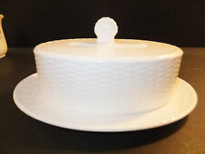 Wedgwood Nantucket Basket Covered Butter Dish Brand New with tag
