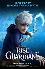 POSTER LOCANDINA LE 5 LEGGENDE RISE OF THE GUARDIANS BABBO NATALE JACK FROST #4