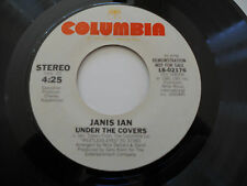 """JANIS IAN NM Under the Covers PROMO 18-02176 45 vinyl 7"""" Same on both sides"""