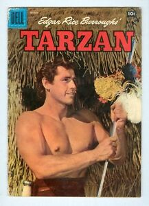 Tarzan #90 March 1957 G/VG Photo cover