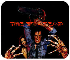 THE EVIL DEAD MOUSE PAD 1/4 IN. TV HORROR MOVIE MOUSEPAD