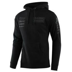 Troy Lee Designs Pullover Hoody 2021 TLD GASGAS Team - Black