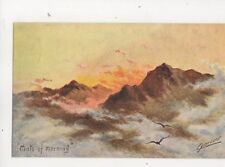 Cynicus Mists Of The Morning Vintage Postcard 320b