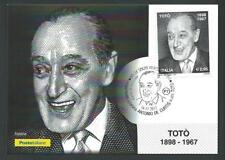 Italia 2017 : Totò ( Antonio De Curtis ) - Cartolina Ufficiale Poste Italiane