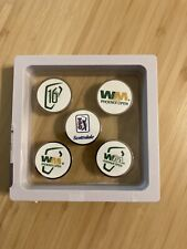 5 NEW TPC Scottsdale Waste Management Phoenix Open Ball Markers - FREE SHIPPING