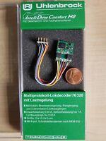 Uhlenbrock 76320 Multiprotokoll Lokdecoder MOT DCC mit 8pol. Stecker H0 TT H0e