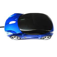 Coche en forma de ratón inalámbrico USB 2.4 Ghz ratón óptico para ordenador PC