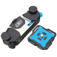 Loading Waist Belt Buckle Mount Camera Clip Adapter For GoPro DSLR Quick Release