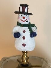 Top Hat Christmas Snowman NEW