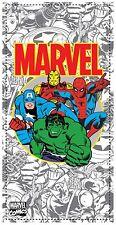Marvel Comics Avengers Grey Team Beach Towel
