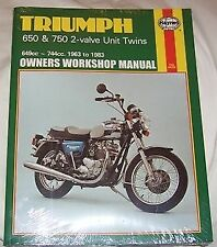 Triumph Motorcycle Manuals and Literature 1963 Year of Publication Repair