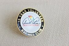 ARNOLD PALMER Invitational Golf Round Lapel Pin 10 Year Volunteer BAY HILL CLUB