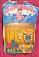 FIGURE SUPEREROI DC SUPERMAN ANIMATED KENNER 90-SUPER GIRL AERIAL ASSAULT ARMOUR