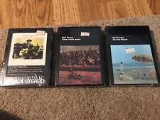 3 Neil Young Sealed 8 Track Tapes Comes A Time, Time Fades Away, On The Beach