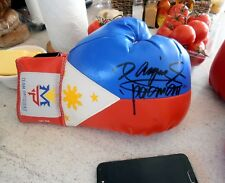 MANNY PACQUIAO (Philippines Flag) Signed Boxing Glove. R/H