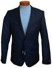 Men's HUGO BOSS Black Wool Jacket Blazer 40L 40 Long NWT NEW $595+ Beautiful!
