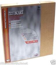 MONSTER VIDEO ® 2 SCART a SCART 8 METRI A / V Cavo Nuovo