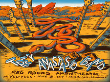 Trey Anastasio Poster 5/31/2017 Red Rocks Amp CO Signed & Numbered #/390