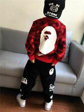 1 Set New Kids Boy Girl Baby Milo Camo Sweatershirt Hoodies+ Shark Pants