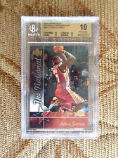 LEBRON JAMES 2005 UPPER DECK #VIP2 BGS 10 Pristine PROMO CAVALIERS 3rdYr RC POP3