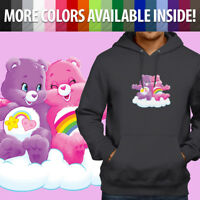 Care Bears Cheer Best Friend Bear Fun Cartoon Pullover Sweatshirt Hoodie Sweater