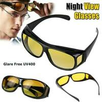 Night Sight Driving Glasses HD Sunglasses Polarized Anti Glare Night Vision HOT
