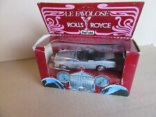26H Vintage Polistil OC6 Rolls-Royce Corniche Drophead 1:43