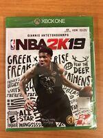 NBA 2K19 - Standard Edition (Microsoft Xbox One, 2018) BRAND NEW FACTORY SEALED
