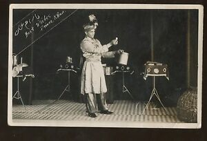 Magic Tricks Magician Illusionist Prince Khan Post Card