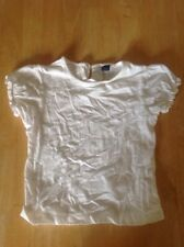White T Shirt Age 3-4