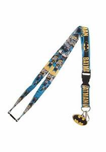 DC Comics Batman Comic Breakway Lanyard ID Badge Holder