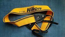 cinghia tracolla per Nikon
