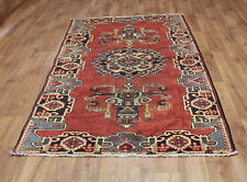 OLD WOOL HAND MADE PERSIAN ORIENTAL FLORAL RUNNER AREA RUG CARPET 230x132CM