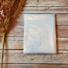 New listing 100 - 9 x 14 Clear Poly Plastic Bag Packaging Shipping Lay-flat Baggie 1 Mil Fda