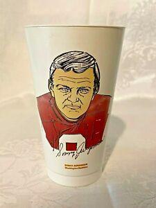 1972 Sonny Jurgensen Washington Redskins 7 Eleven Drink Slurpee Cup - 7-11