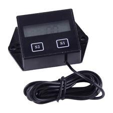 Digital LCD Tachometer Drehzahlmesser Kilometerzähler Motorrad 2/4Takt Motor ATV