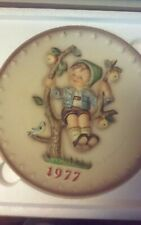 Vintage M.J. Goebel Hummel Apple Tree Boy 1977 Plate