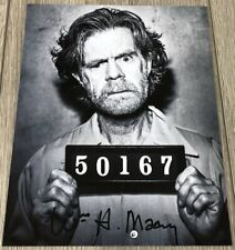 WILLIAM H. MACY SIGNED AUTOGRAPH SHAMELESS FRANK GALLAGHER 8x10 PHOTO A w/PROOF