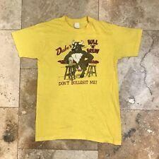 Vintage Don't Bullshit Me T-Shirt 70s 80s Medium Single Stitch Florida Thin