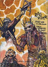 BRENDAN McCARTHY Mad Max: Fury Road RAG RIDER EMBELLISHED CANVAS PRINT