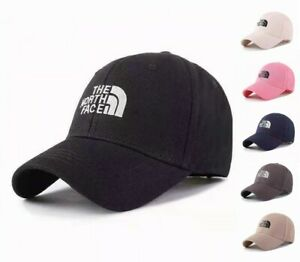 THE NORTH FACE Outdoor Mountaineering Sun Hat Baseball cap Men and Women Black