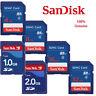 SanDisk 1GB 2GB SD Card Class 2 Memory Card 4GB 8GB 32GB Class 4 SDHC